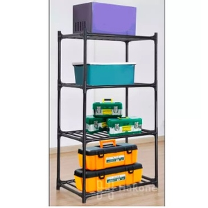 ชั้นวางของ ชั้นเก็บของ ชั้นเหล็กวางของ ชั้นวางของอเนกประสงค์ ชั้นวางของ 4 ชั้น Micro rack