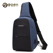 POSO กระเป๋ากันขโมย กระเป๋าสะพายไหล่ รุ่น PS-315