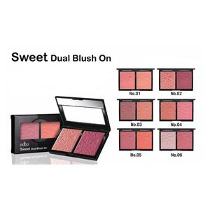 โอดีบีโอ สวีท ดูเอิล บลัช ออน odbo Sweet Dual Blush On OD160
