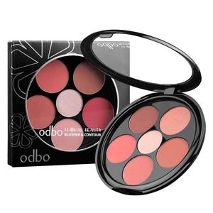 ของแท้ OD161 odbo Floral Beauty Blusher & Contour