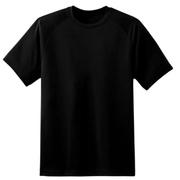 เสื้อยืดแขนสั้น-สีดำ
