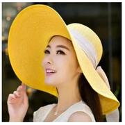 หมวกปีกกว้าง เฟชั่นสไตล์เกาหลี