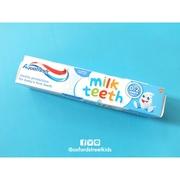 Aquafresh Milk Teeth 0-2 Years   ยาสีฟันเด็กเล็กอายุ 0-2 ปี