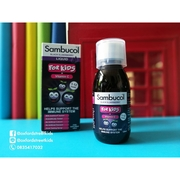 Sambucol Black Elderberry + Vitamin C+Zinc วิตามินช่วยเพิ่มระบบภูมิคุ้มกันและป้องกันหวัด สำหรับเด็กอายุ1-12 ปี