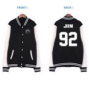 เสื้อแจ็คเก็ตเบสบอล BTS
