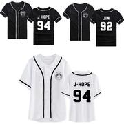 เสื้อเบสบอล BTS