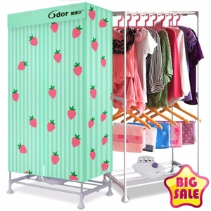 ClothesDryerเครื่องอบผ้าแห้งฆ่าเชื้อลดกลิ่นอับ15kg/900Wฟรี