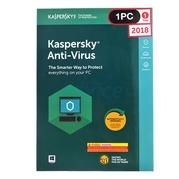 Kaspersky Antivirus 2018 (1Desktop)