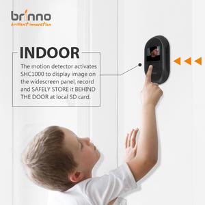 เครื่องตรวจจับการเคลื่อนไหวของ Brinno Peephole Camera SHC1000