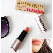 #ลิปสติก Sivanna #Lipstick ของแท้ เนื้อแมท ติดแน่น