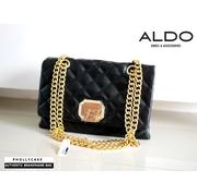 กระเป๋าสะพายไหล่ ALDO QUILTED SHOULDER BAG ลุคหรู ไฮเอน แบบ Chanel