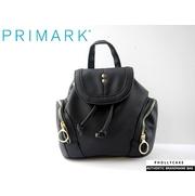 กระเป๋าเป้ Primark แบรนด์เนมดังจากยุโรป หนังคลาสิค สีดำ