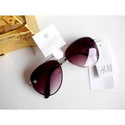 แว่นกันแดด H&M Sunglasses แบรนด์เนมแท้ ยี่ห้อ H&M ทรงตี๋ใหญ่ Rayban Aviator