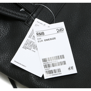 กระเป๋าเป้ สะพายหลัง H&M Tassel Backpack สีดำ สุด chic พร้อมส่ง ที่ไทย