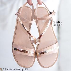พร้อมส่ง : รองเท้าลำลอง Style Zara (สีดำ)