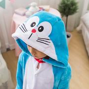 ชุดนอนมาสคอต / แฟนซี เด็ก โดเรม่อน Doraemon > ไซส์ 130 สูง 125-135 ซม.