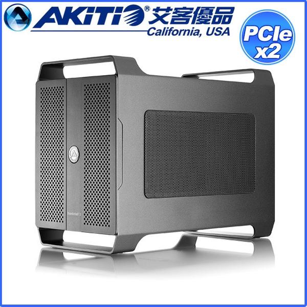 (AKiTiO)AKiTiO Node DuoThunderbolt3 to dual PCIe external expansion unit