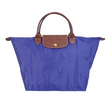 (LONGCHAMP)LONGCHAMP Le Pliage Short Foldable Dumpling Bag (Medium / Amethyst)