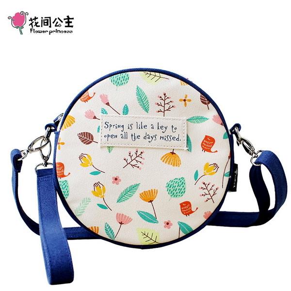 (FlowerPrincess)Flower Princess Spring misses pretty oblique side bag