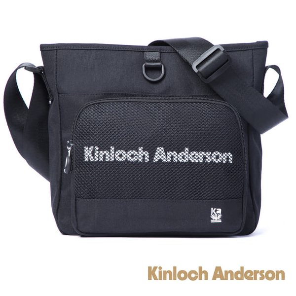 (Kinloch Anderson)[Gold Anderson] Unbox style oblique side bag - black (KA184003BKF)