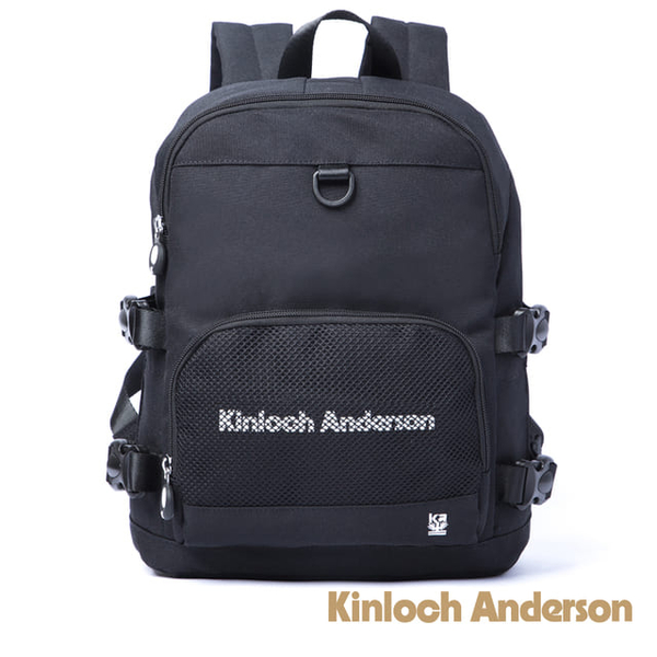 (Kinloch Anderson)[Gold Anderson] Unbox Multi-Function Backpack - Black (KA184006BKF)