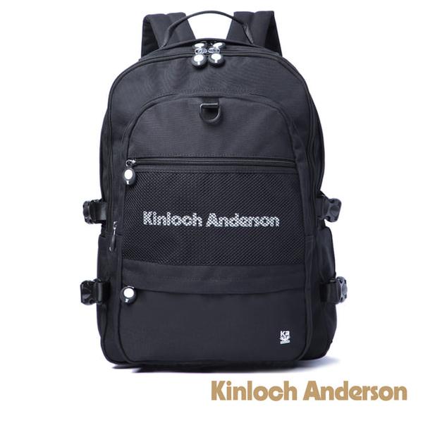 (Kinloch Anderson)[Gold Anderson] Unbox Functional Backpack - Black (KA184001BKF)