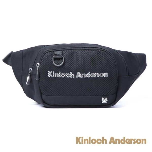 (Kinloch Anderson)[Gold Anderson] Unbox Shape Shoulder Bag - Black (KA184007BKF)