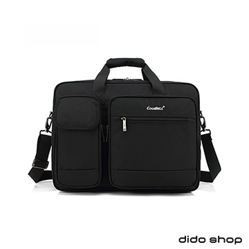 (didoshop)15.6-inch large-capacity portable business laptop bag briefcase (CL200) black