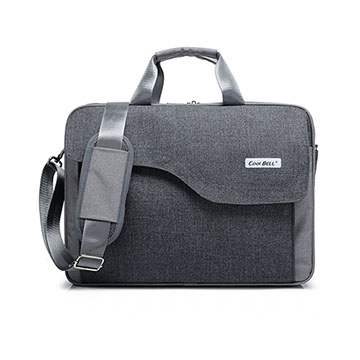 (dido shop)17 inch portable business laptop bag briefcase (CL187) gray