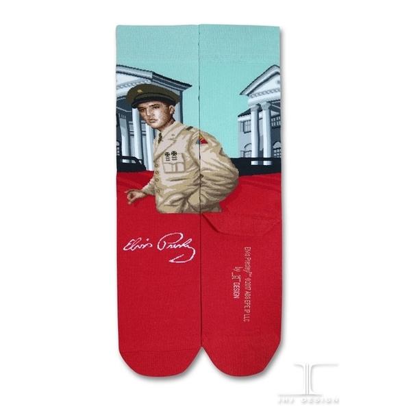 (JHJ DESIGN)[JHJ DESIGN] Rock star Elvis Bye Bye Birdie Happy future socks / celebrity socks / knit socks