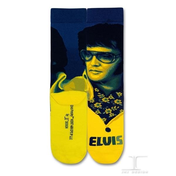 (JHJ DESIGN)[JHJ DESIGN] Rock star Elvis Grace Garden Graceland stockings / celebrity socks / knit socks