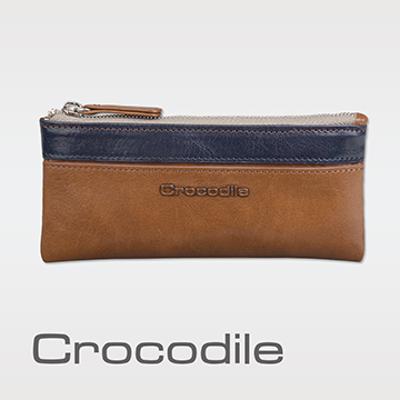 (Crocodile)Crocodile Naturale Series Easy Lightweight Change Key Combination Bag 0103-08103-02