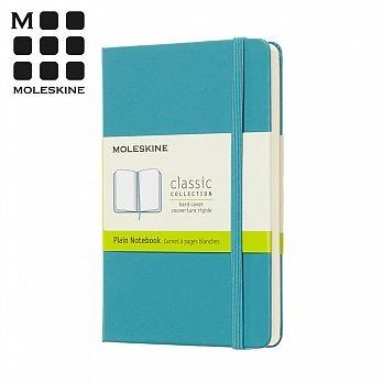 (MOLESKINE)MOLESKINE Spring & Summer Series Hardshell Notebook (Pocket) - Coral Blue Blank
