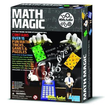 [Series] 4M scientific exploration math Magic Math Magic 00-03293