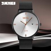 (SKMEI) นาฬิกาผู้ชาย สไตล์เรียบง่าย กันน้ำ Quartz Movement