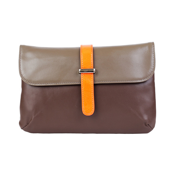 """(AmoreDaniel)Amore Fairy 7"""" Pouch Camel/Brown"""