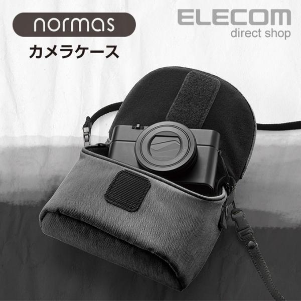 (ELECOM)ELECOM normas casual camera storage bag - black