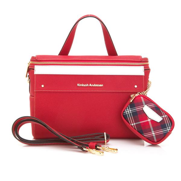 (Kinloch Anderson)[金安德森] Dreaming Dorothy 2way side shoulder bag - mushroom red (KA160003RDF)
