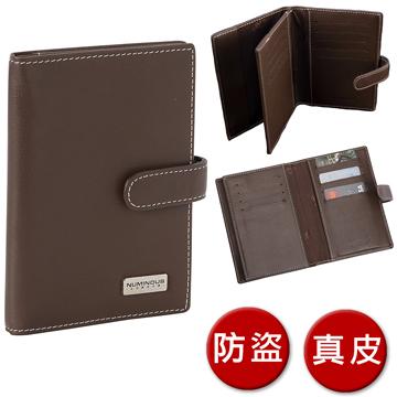(Numinous Packs)Numinous Packs UK Lion King RFID Anti-theft Leather Passport Holder/Passport Pack