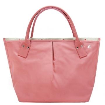 (agnes b)Agnes b. Ab love little inside dumplings bag (large / pink)