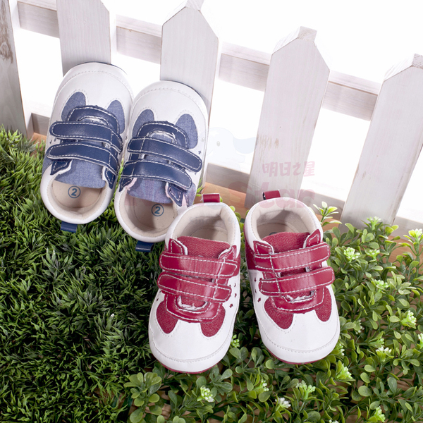 (NEWS)Children toddler shoes (matte non-slip bottom) four kinds of size - blue, pink optional
