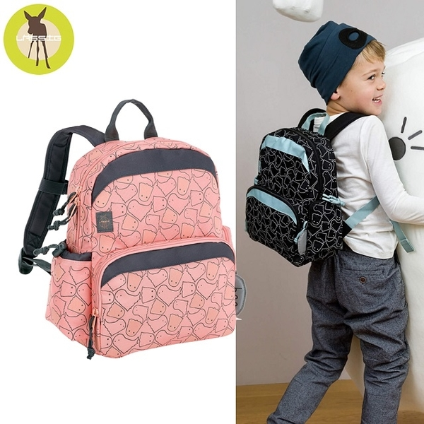 German Lassig Children's Little Ghost Wind Backpack - Pink