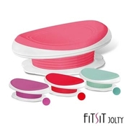 【FitSit】 waist friction 3D curve cushion (pink / purple / red / green)