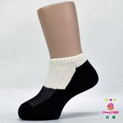 ถุงเท้านักเรียน-ถุงเท้าผ้าฝ้ายแท้ ถุงเท้าเด็ก (สองสี - สีขาวดำ)