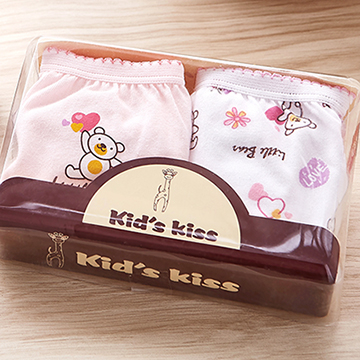 (Kid's Kiss) กางเกงในเด็กหญิง Kid's Kiss 2 ชิ้น