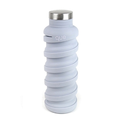 que Bottle retractable bottle - minimalist gray (355ml)