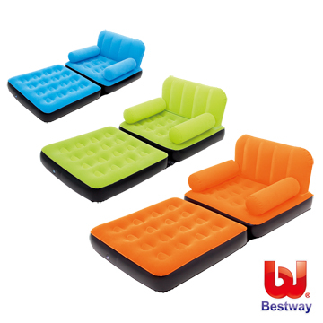 """(Bestway)[Love and rich L & R] """"Bestway"""" colorful bright single dual-use inflatable bed / sofa 67277"""