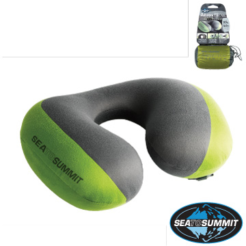 (SEA TO SUMMIT)Sea to Summit 50D inflatable neck pillow - Green
