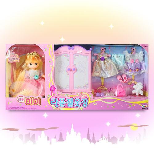 Mini MIMI Rapunzel Wardrobe Set