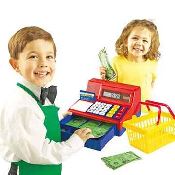 (WISDOM)Watson 葳 children to teach toys play angle series - technology cash register second generation N1-2629